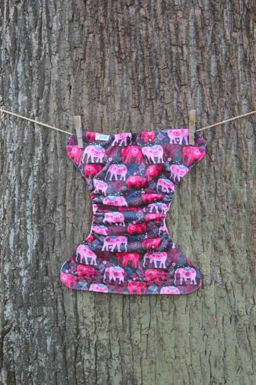 Kapsová plena - Sloni z Indie (patentky)