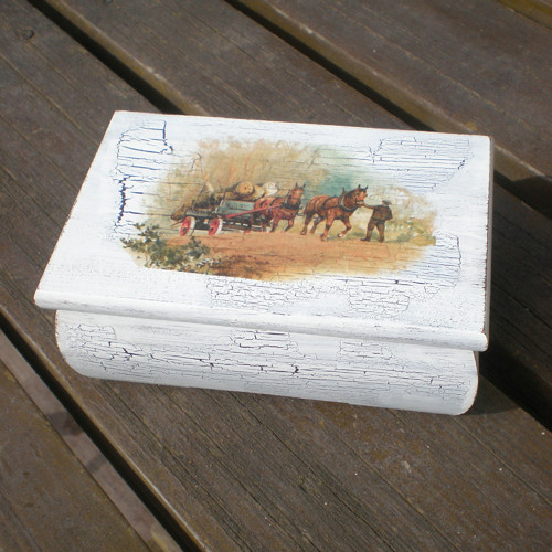 Krabička s koňmi