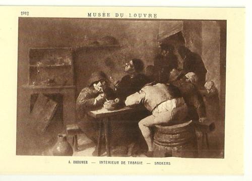 Umělecká pohlednice A.Brouwer