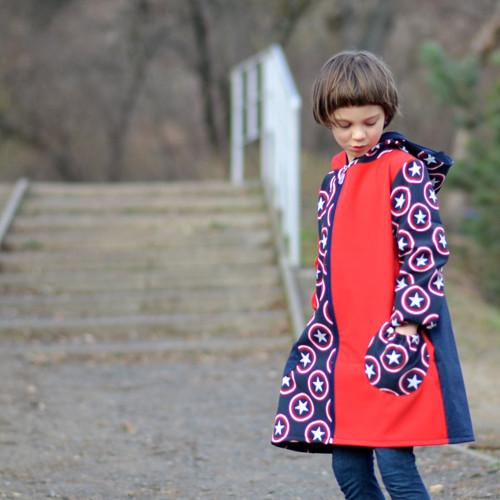Hvězdy pro hvězdy - softshellový dívčí kabát