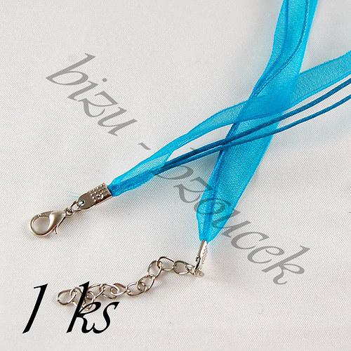 Azurový náhrdelník - 1ks