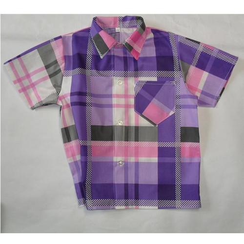chlapecká košile Fialová