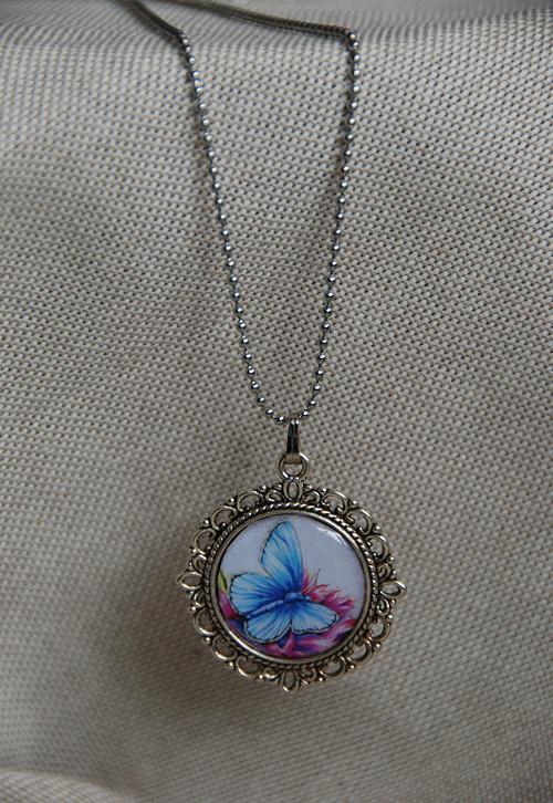 Motýlek - náhrdelník