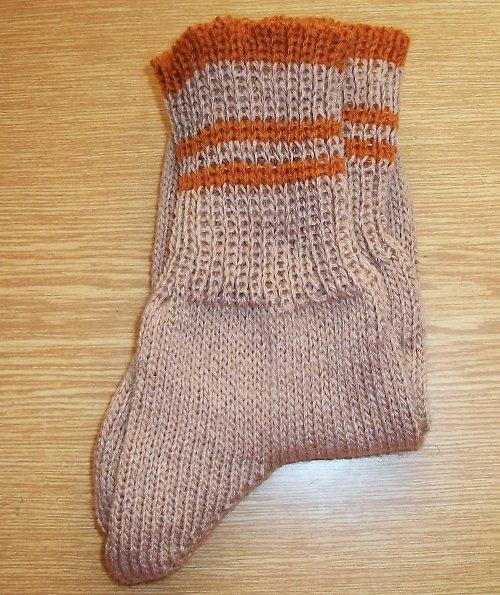 Ponožky béžové vel. 36/37