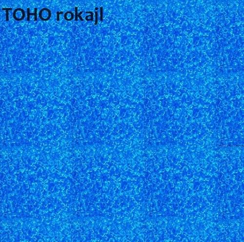 TOHO 11/0 -  Transparent Aquamarine
