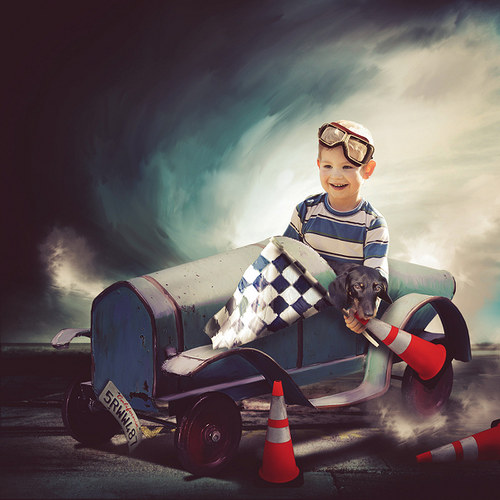 Scrap z vaší fotky (mix kitů od Lorie Davison)