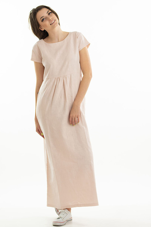 Maxi šaty GITA - len