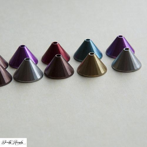 akrylové pyramídy - 10 ks