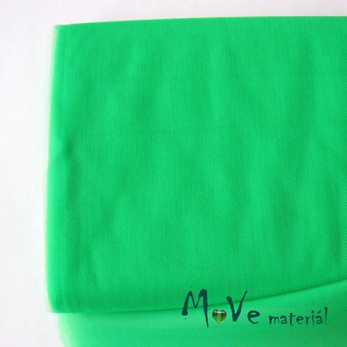 svatební tyl jemný neon. zelená 50cm/š 280cm