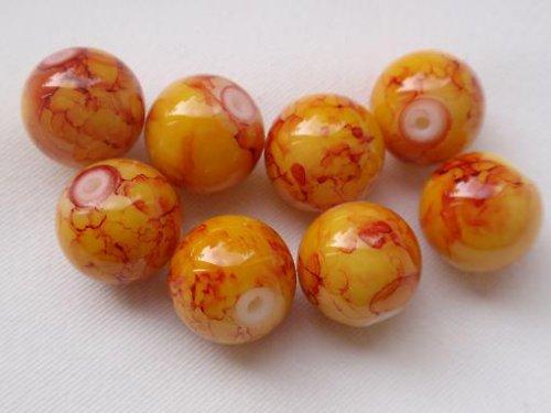 Kraklované kuličky č. 1 - 8 mm