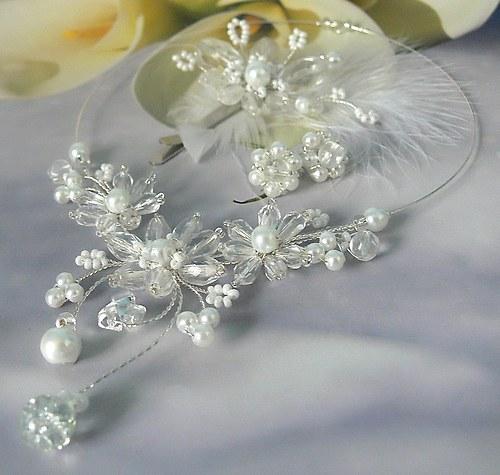 svatební sada šperkú