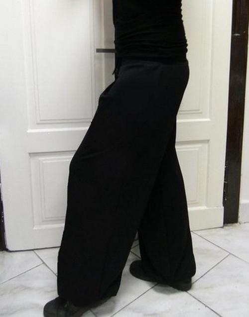 Taneční tepláky  černé, více barevných možností...