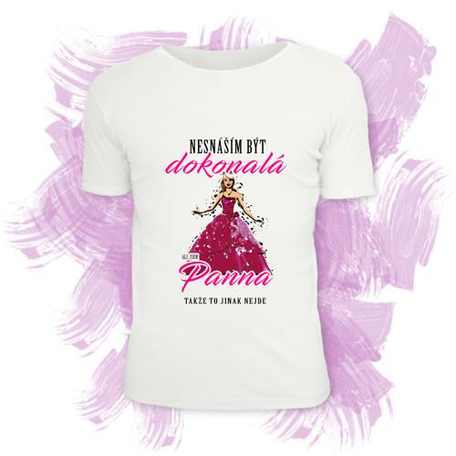 Tričko unisex s motivem zvěrokruhu - Panna