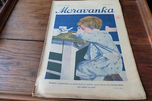 Časopis Moravanka, číslo 31/1933