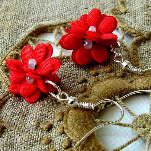 Náušnice květinky.....7