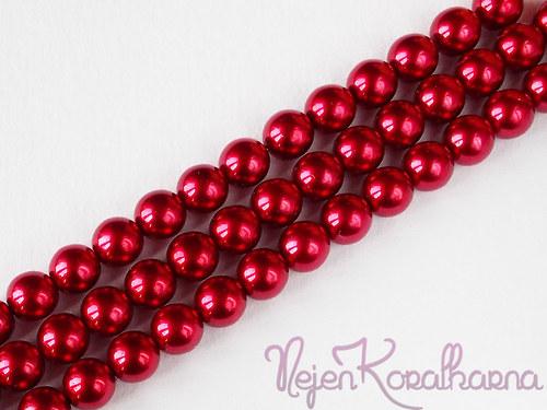 Voskové perle vínová 8mm