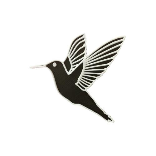 Kolibřík black/traffic white
