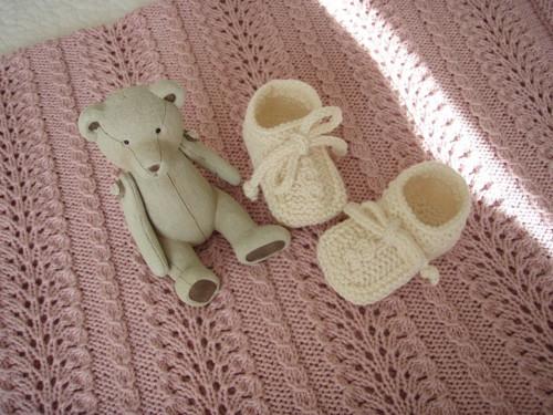 Merino botičky pro miminko nejen na teplé dny