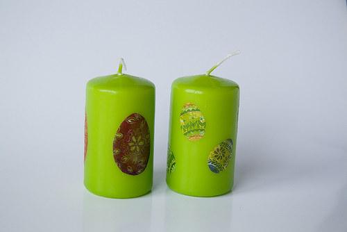 Sada velikonočních svíček