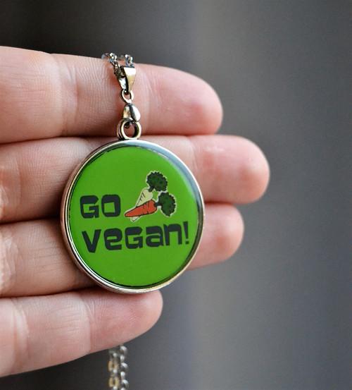 Náhrdelník Go Vegan!