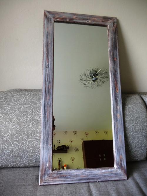 Zrcadlo velké, žíhané 032