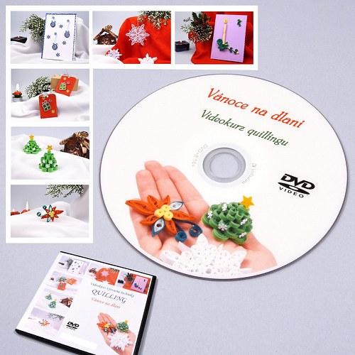 Vánoční kurz quillingu na DVD