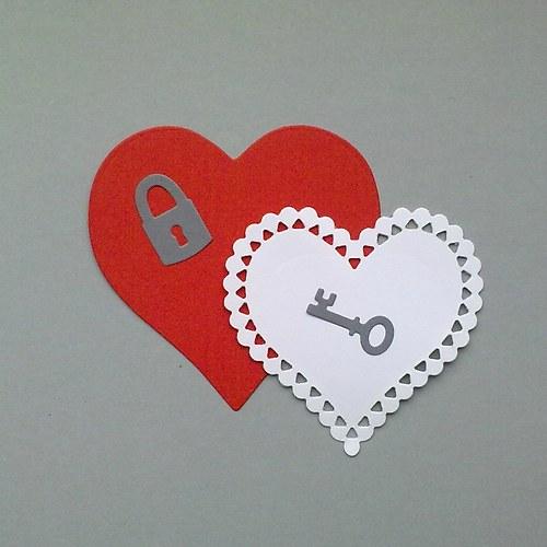 Výsek - Srdce zamilované