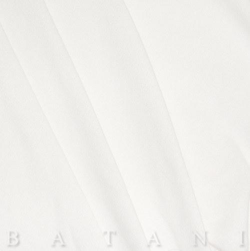 Jednolíc elastický bílý
