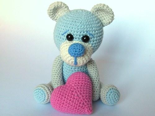Zamilovaný medvídek - návod