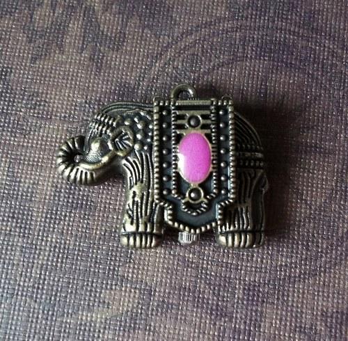 Vintage hodinky otevírací slon