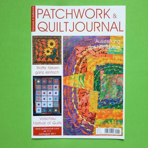 PATCHWORK QUILT JOURNAL č. 117 - časopis