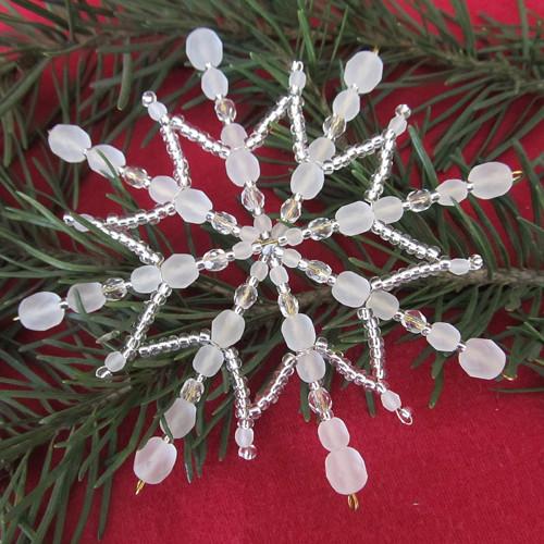 Vánoční hvězda stříbrnoledová