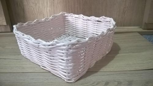 Košíček z papírového pedigu