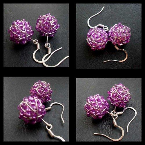 fialové kuličky