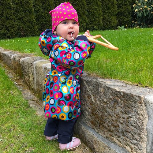 dětský nepromokavý kabátek ... RAINBOW