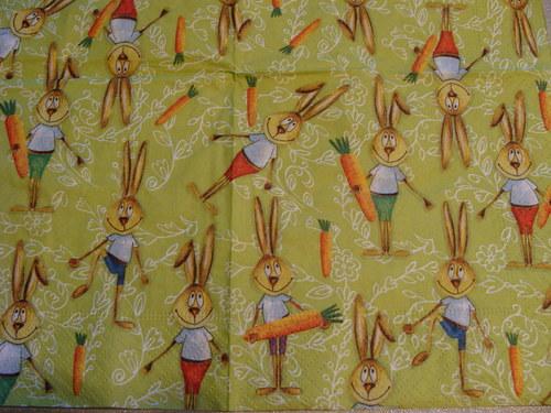 Veselý velikonoční zajíc