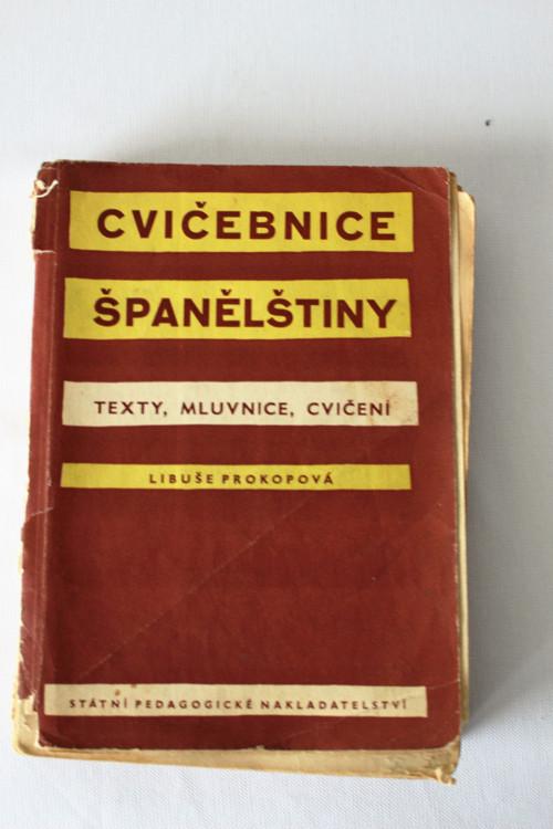Kniha - Cvičebnice španělštiny