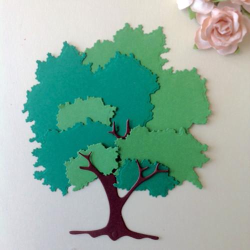 Strom,sada 8 ks  , barva dle přání (FLO 88)