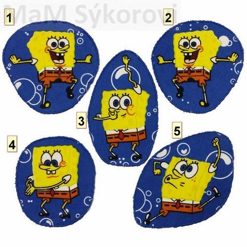 Nažehlovací záplaty Spongebob