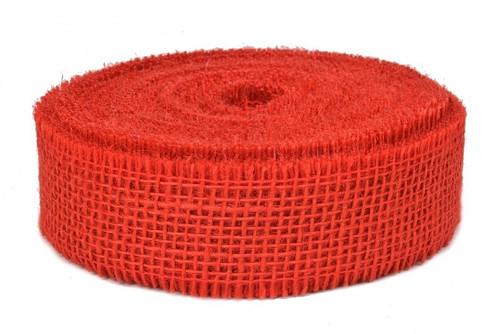 Jutová stuha (červená)