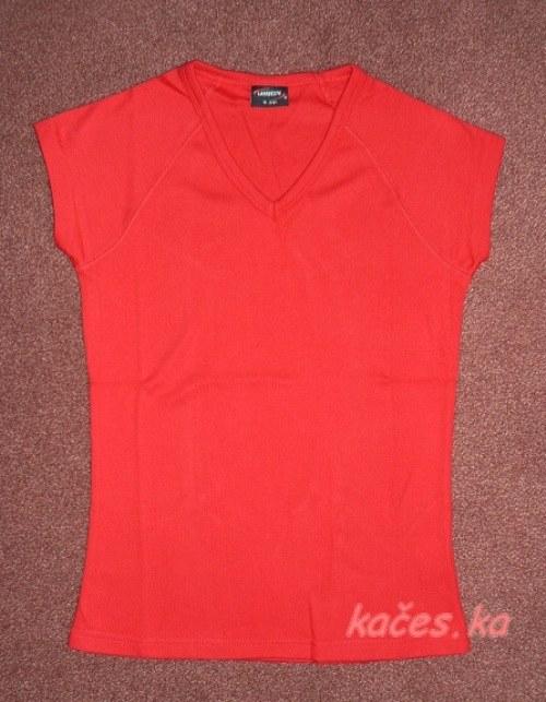 Dámské triko pro Vaše tvoření - červené (vel.L)
