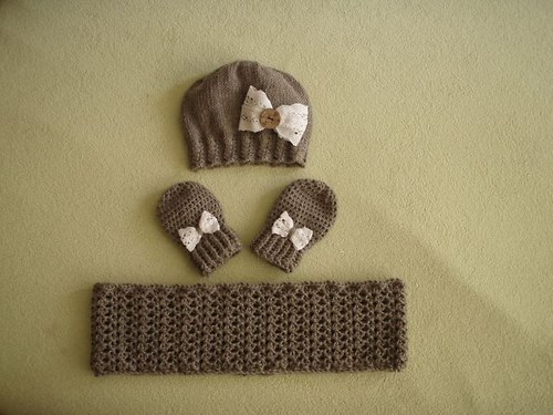 Merino čepička, nákrčník, rukavičky-vel. 80-86