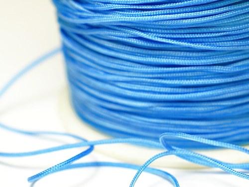 1m šňůrka 0,7mm- modrá