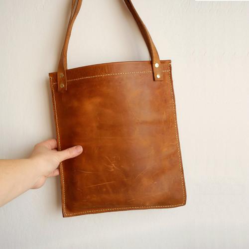 Taška na rameno - žebradlo - kůže