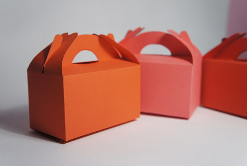 Dárkové krabičky .... 16-sada červená