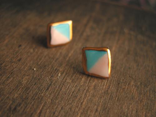 Diamanty - puzetky zlacené