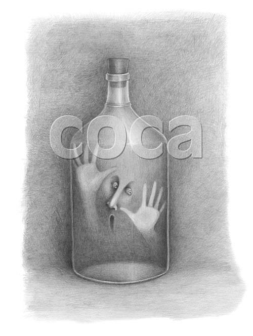 Duch v láhvi