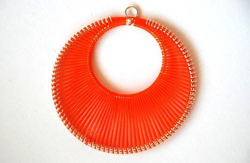 Kolo oranžové 62x65mm