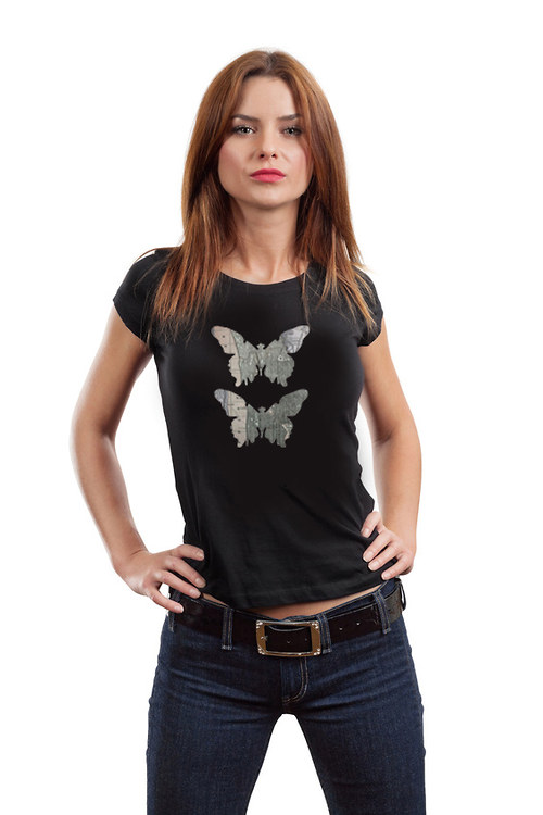 Dámské triko ,,Motýli z New Yorku,,
