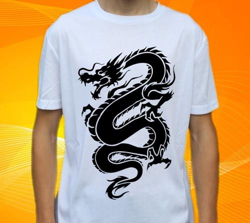 Tričko s drakem , drak , dragons č. 98